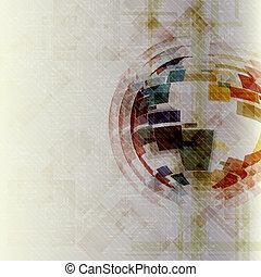 Colorful Globe Design.