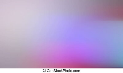 Colorful gradient changes, real lights. Fast transition -...