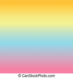 Colorful gradient, color background. Wallpaper, pink, blue, yellow, orange.