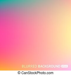 Colorful gradient mesh background in bright rainbow colors. Abstract blurred image.
