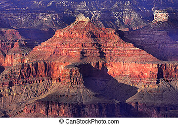 Colorful Grand Canyon National Park in Arizona