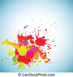Colorful grunge background. - Abstract grunge spectrum...