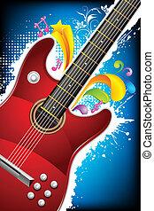 Colorful Guitar