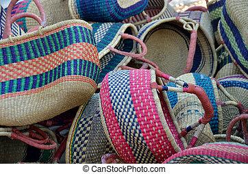 handmade shopping baskets for sale