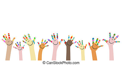 colorful hands vector clipart royalty free 129 854 colorful hands rh canstockphoto com hands clipart black and white clipart hands clapping
