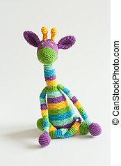 colorful hanmade giraffe
