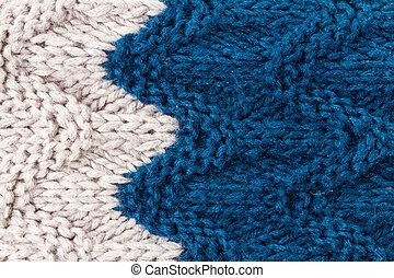 Colorful Happy Knitting background texture. High resolution Knit