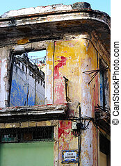 Colorful Havana facade