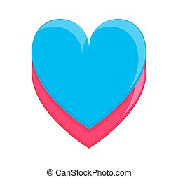 Colorful Heart Frame
