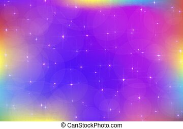 colorful holographic pretty vector illustration in pastel color galaxy fantasy background the image csp58177177