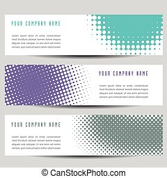 Colorful Horizontal Banners