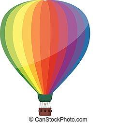 Colorful Hot Air Balloon