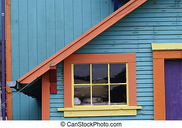 colorful house 1