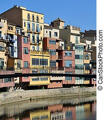 A View of the City of Gerona in Spain