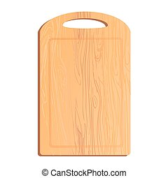 Colorful illustration of cutting Board - Vector colorful...