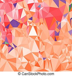 abstract crystal red background