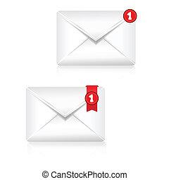Mailbox Alert Icon