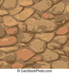 stone texture - colorful illustration with stone texture