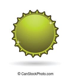 yellow cap icon