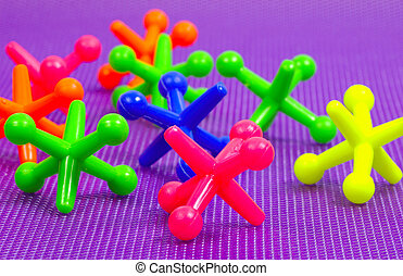 Colorful Jacks - Jacks of Various Colors