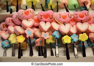 jelly i love u with heart shape