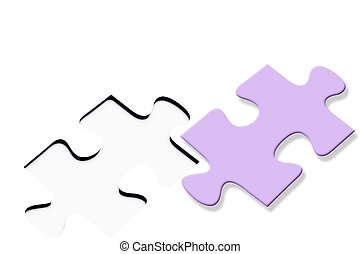 Colorful jigsaw puzzle
