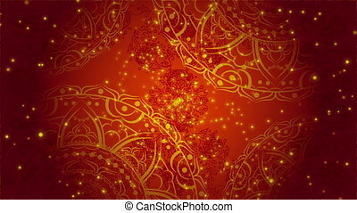 Colorful Kaleidoscopic Video Background. - Colorful...