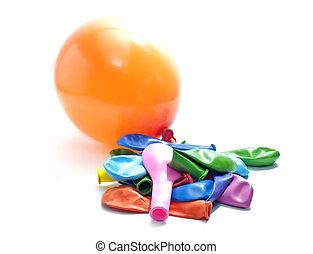 colorful léggömb