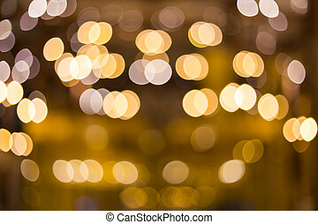 Colorful light Abstract circular bokeh background.