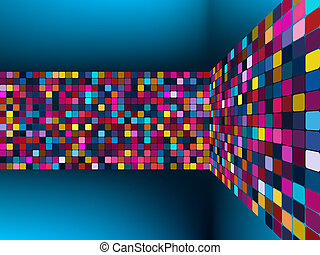 Colorful light vector background. EPS 8 vector file included