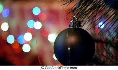 Colorful lights Christmas