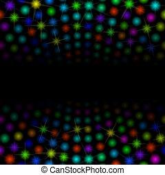lights - colorful lights od dark background