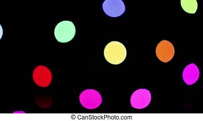 Lights Of The Disco Shine In Time With The Music