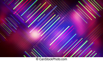 colorful lines abstract background seamless loop