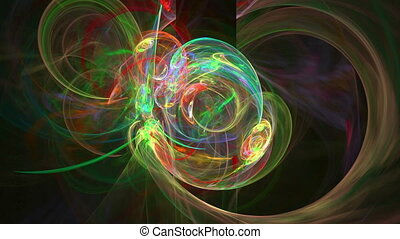 Colorful lines pattern abstract motion background