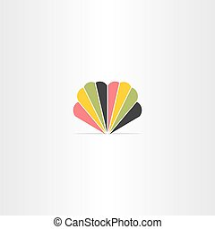 colorful logo abstract business icon symbol design