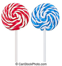 Colorful lollipops