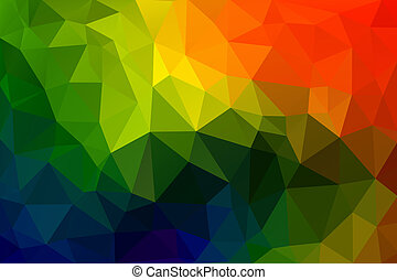 Triangle Abstract 6