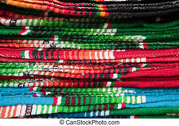 Colorful Mexican Blankets