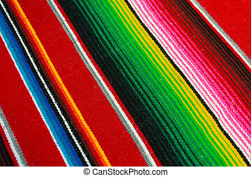 Mexican Poncho - Colorful Mexican Poncho Background