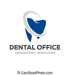 Colorful modern Dental Logo