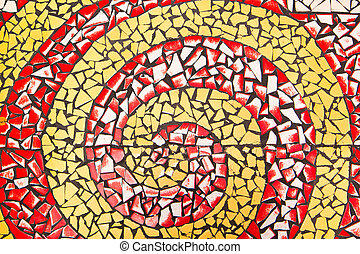 Colorful Mosaic on the floor