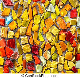 Colorful mosaic texture as creative background