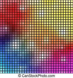 Colorful mosaic vector background.