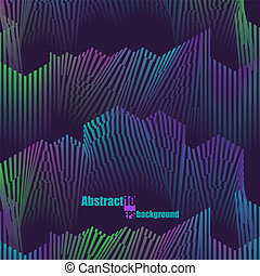 Colorful musical abstract background. Eps10 Vector illustration
