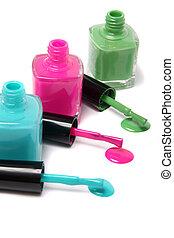 Colorful nailpolish