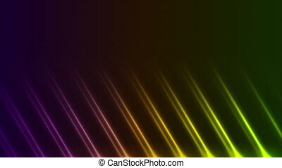 Colorful neon laser rays lines abstract motion background