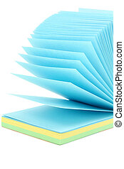 colorful notepaper