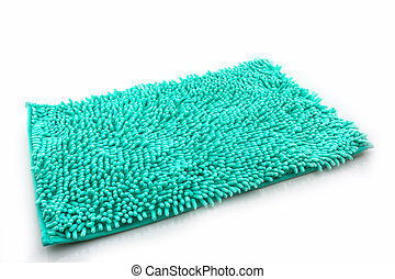 Colorful of cleaning feet doormat or carpet texture.