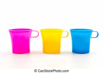 Colorful of cup.